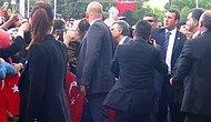 Valilik Ziyaretinde Cumhurbaşkanı Gül'e Protesto