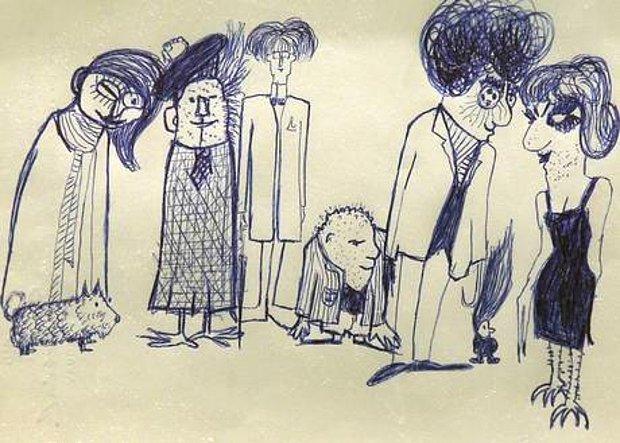 John Lennon'ın Az Bilinen Çizimleri 3 Milyon Dolara Satıldı!