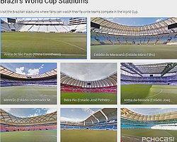 Dünya Kupası Stadlarını Street Views İle Keşfedin