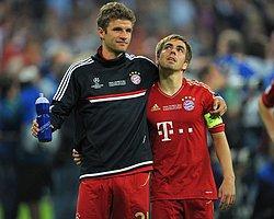 Lahm ve Müller Uzattı