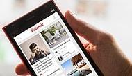 Pinterest Windows Phone'a Geldi