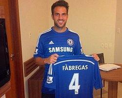 Fabregas Chelsea'ye İmzayı Attı