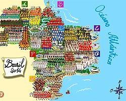 Dünya Kupası'na Katılan 736 Futbolcunun Karikatürü