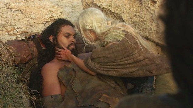 1. Daenerys ve Khal Drogo