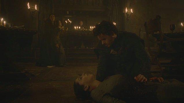 4. Robb Stark ve Talisa