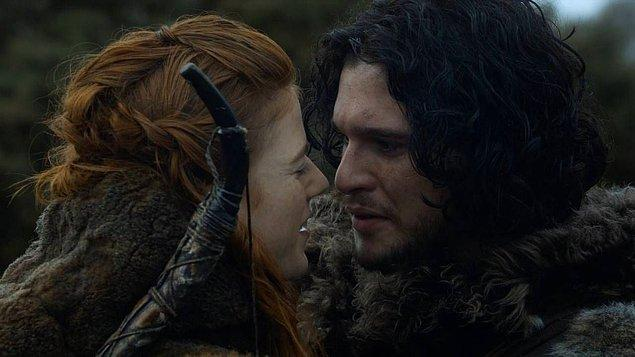 6. Jon Snow ve Ygritte