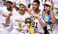 NBA'in Şampiyonu San Antonio Spurs!