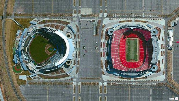 Google Earth ile Ziyaret Edebileceğiniz Enteresan Yerler