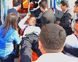 Bakan Fikri Işık Hastaneye Kaldırıldı