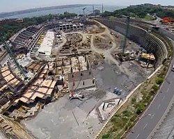 Beşiktaş Vodafone Arena Stadı'nda Son Durum