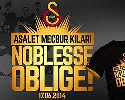 """Galatasaray'dan """"17 Haziran"""" Tişörtleri"""