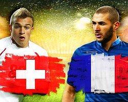 İsviçre Fransa Maçının Kadroları