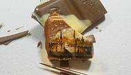 Minik Yiyeceklerin Üzerine Aşırı Detaylı Resimler Yapan Türk Sanatçı