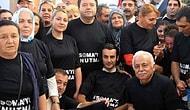 """Maltepeliler Siyah Tişört Giyerek """"Soma'yı Unutma"""" Mesajı Verdi"""