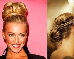 En Güzel Saç Topuz Modelleri