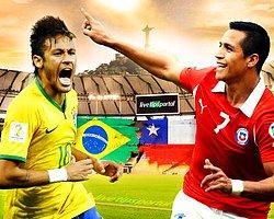 Brezilya - Şili Maç Önü
