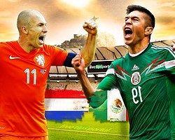 Hollanda - Meksika Maç Önü