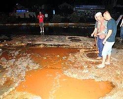 Bodrum'da DSİ İçme Suyu Hattında Patlama