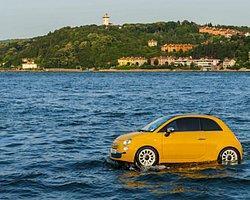 Fiat 500′ler Artık Yüzebiliyor