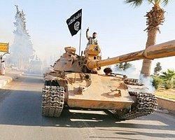 IŞİD'in Tanklı 'Hilafet' Kutlaması