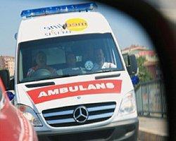 Ambulans acelesi olanlara hizmet verir!