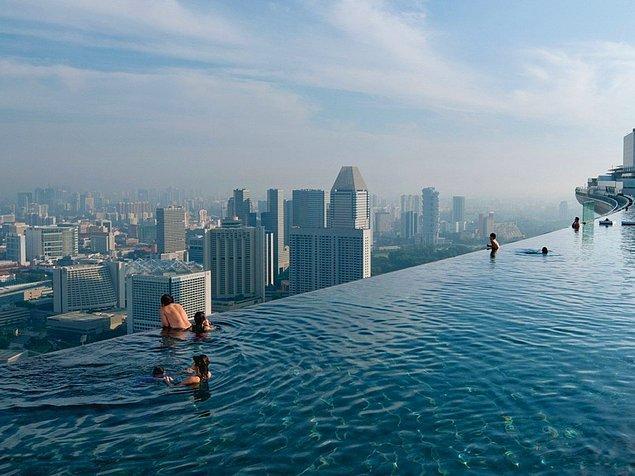 5. Marina Bay Sands, Singapur