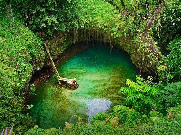 12. Tosua Pool, Samoa