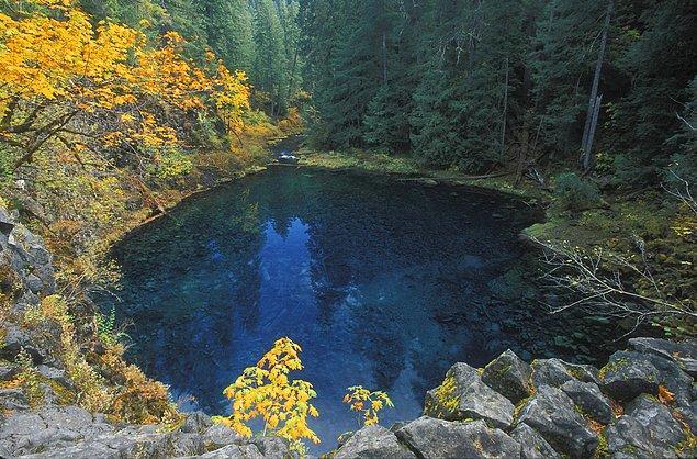 19. Blue Pool, McKenzie River, Oregon