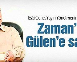 Star yazarı Fehmi Koru, Zaman ve GYV'nin Fethullah Gülen'in hükümete barış dalı uzattığı sözlerini sansürlediğini iddia etti.