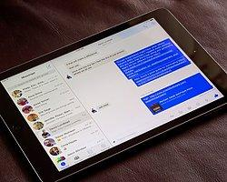 Facebook Messenger iPad'de