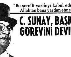 28 Mart 1966: Cevdet Sunay