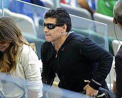 FIFA'dan Maradona'ya Yasak