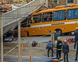 Brezilya'da Dünya Kupası Köprüsü Çöktü: 2 Ölü