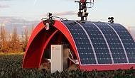 Dünyanın İlk Güneş Enerjisiyle Çalışan Çiftlik Robotu