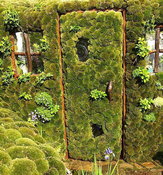 8. Japonya'da Kazuyuki Ishihara tarafından yapılan bahçe kapısı