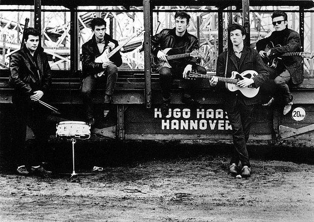 20. Meşhur olma yolundaki The Beatles