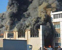 Kimya Fabrikasında Büyük Yangın