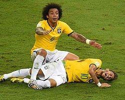 Neymar'ı Sakatladı, Ucuz Kurtuldu!