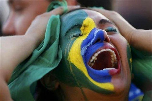14) Dünya Kupası Brezilya'ya iyi gelmedi