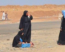 IŞİD İşgali Sonrası Göç Eden Türkmenler Çöl Sıcağı ile İmtihanda