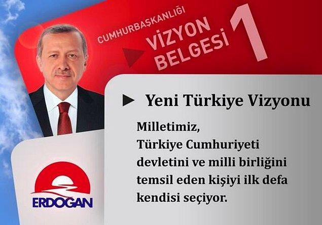 İşte 25 karede Erdoğan'ın vizyon belgesi