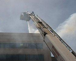 Diyarbakır'da Özel Bir Hastahanede Yangın Çıktı!