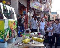 Suriyeli Sığınmacıların Dükkanlarına Satırlı Baskın