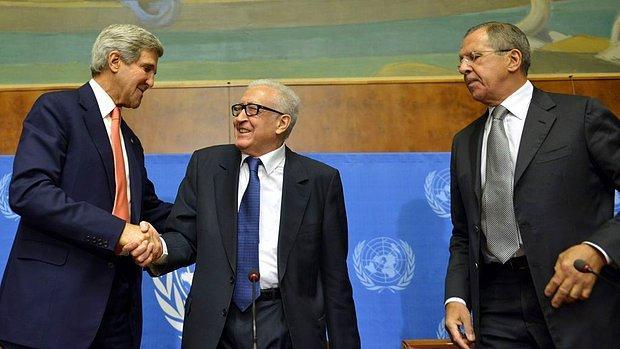 Türkiye Cenevre Konferansı gibi bölgedeki barış ve istikrarı destekleyecek kalıcı bir çözüm için çalışmalı