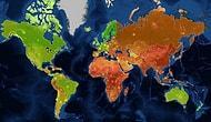 Dünyaya Bakışınızı Tamamen Değiştirecek 13 İnanılmaz Harita