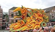 Corso Zundert Festivali'nden 11 Çiçek Heykeli