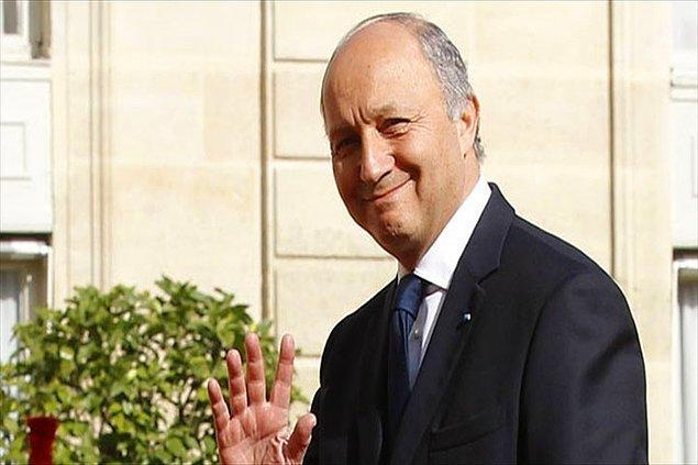 11.En iyi karşılıklı bağlantı oluşturan lider: Fransa Dışişleri Bakanı Laurent Fabius