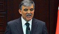 Abdullah Gül: İsrail'i ikaz ediyorum