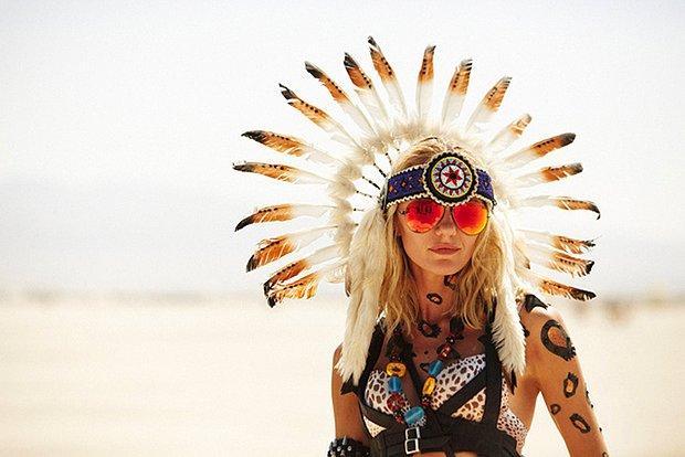 Dünyanın En Büyük Psychedelic Festivallerinden Burning Man'den 56 Kare