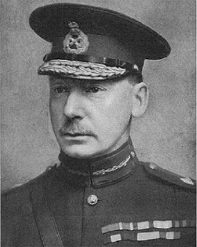 8. Sir Charles Townshend, İngiliz Generali, 1922